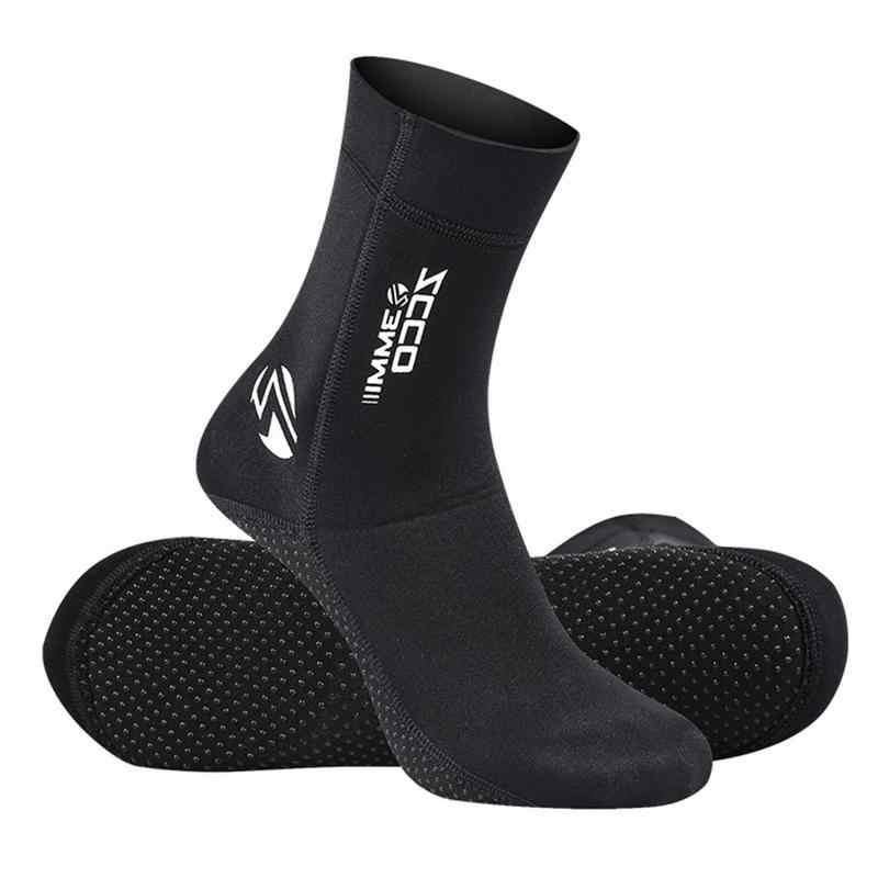 Duiken Sokken 3mm Neopreen Strand Sokken Laarzen Water Schoenen Strand Booties Snorkelen Duiken Surfen Laarzen voor Mannen Vrouwen