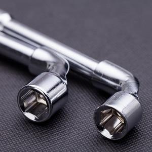 Image 5 - 렌치 고 탄소강 l 형 파이프 천공 외부 육각 슬리브 렌치 엘보 더블 6mm/7mm/8mm/9mm/10mm/11mm/12mm/13mm