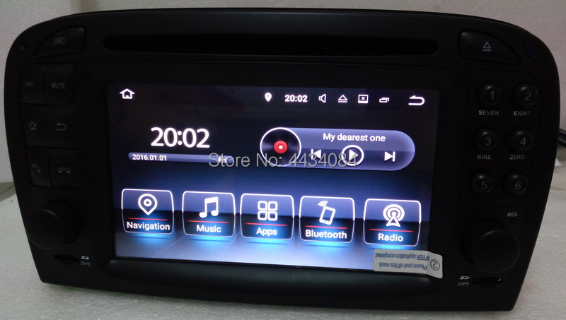 Ouchuangbo PX5 аудио GPS Радио Стерео android 9,0 для Mercedes Benz SL R230