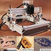 Мини 2000 МВт DIY в виде логотипа лазерной гравировки гравер резки лазер cnc принтер с резаком 17x20 см для самостоятельной сборки