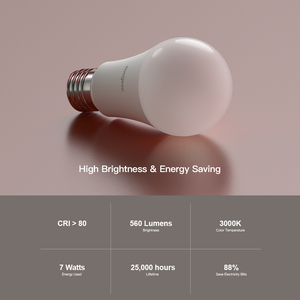 Image 2 - Koogeek Smart Light Dimmable White LED WiFi Light Bulb Smart Home Voice/Remote Control For Alexa/Apple HomeKit/Google Assistant