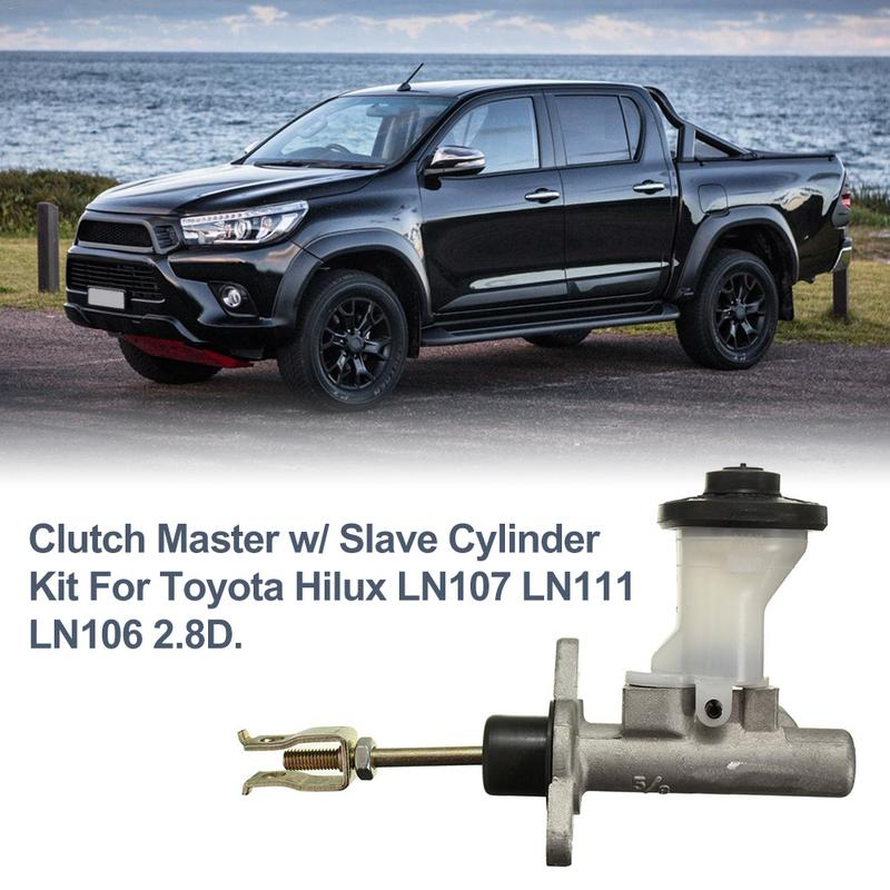 Professional Clutch Master Pump With Slave Cylinder Kit For <font><b>Toyota</b></font> <font><b>Hilux</b></font> LN107 LN111 <font><b>LN106</b></font> 2.8D image