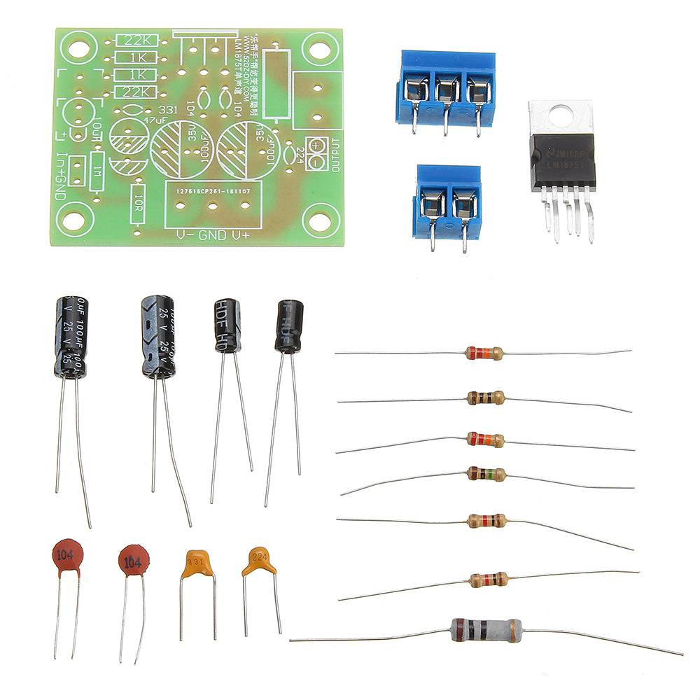 LEORY LM1875T Mono channel Soundtrack HiFi Speaker Amplifier Assembly DIY Accessories image