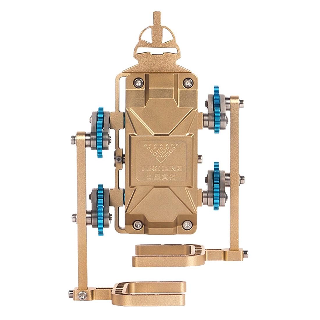 Цельнометаллический пешеходный робот Собранный модель строительные наборы игрушки для взрослых