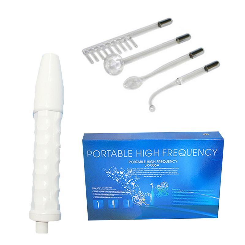 Portable Électrode Haute Fréquence Spot Acné Remover Soins Du Visage de Massage Pour Le Visage Beauté Dispositif Spa Maison Équipement De Beauté