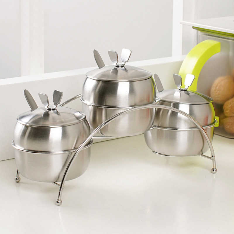7 шт./компл. кухонные принадлежности в форме яблока из нержавеющей стали