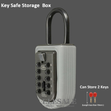 Ключ безопасного хранения Коробка органайзер с Комбинации замок 10 цифровой пароль всепогодный для дома на открытом воздухе Применение Прямая