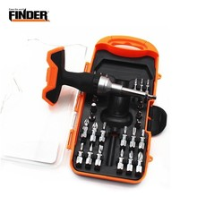 PEGASI 26 In 1 Precision Double T Handle Ratchet Drive Screwdriver Set Notebook Iphone Ipad Camera Mini Electronic Repair Tool