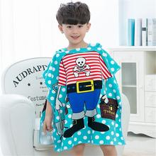 New Cute Cartoon Wear Bath Towel Cloak Microfiber Beach Towel Active Printing Hooded Beach Cloak For 2-10 Year Old Children все цены