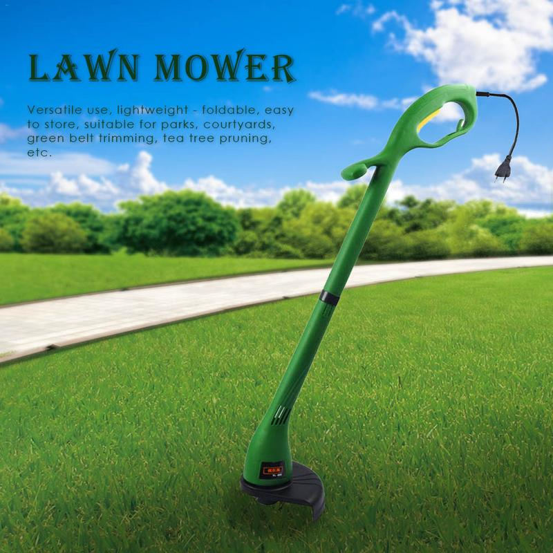 Home Mower Min Trimming Garden Folding Electric Machine Lawn 400W 12500r