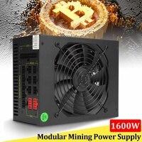 1600 W Модульная добыча Питание GPU для Bitcoin Miner Eth Rig S7 S9 L3 + D3 высокое качество компьютера Питание для BTC