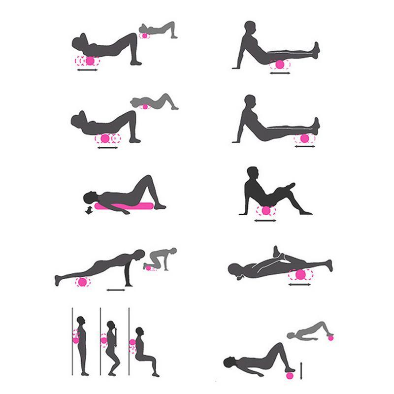 Colonne de Yoga électrique masseur de Yoga Protection de l'environnement rouleau de mousse auxiliaire avec chargeur - 2