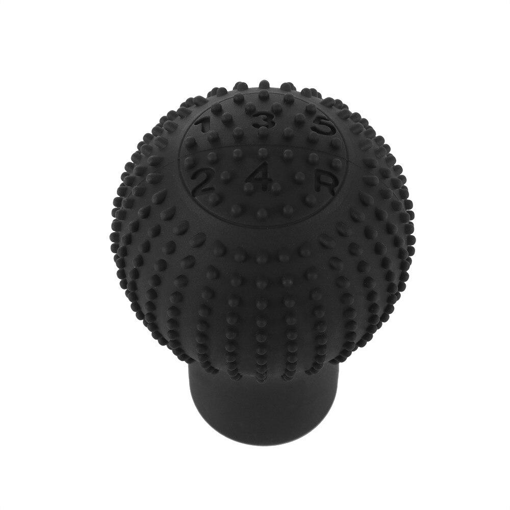 Lever-Gear-Shift-Knob-Cover Nonslip-Shifter Car-Interior-Decor Silicone Universal Round