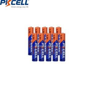 Image 3 - Аккумуляторная батарея PKCELL AAAA LR61 AM6 MN2500 E96 4A 100 в, первичная и сухая батарея для стилуса, камеры, флэш бритвы, 1,5 шт.
