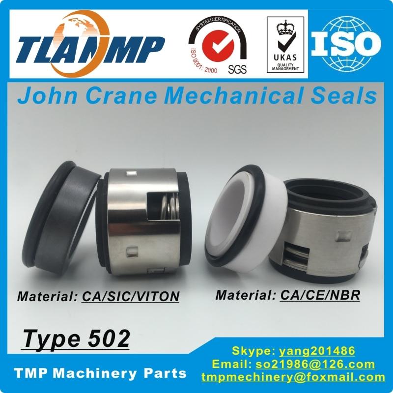 T502-28 502/28 John Crane joints mécaniques (matériau: carbone/SiC/Vit) | Type 502 taille de l'arbre 28mm élastomère soufflet pompes joints