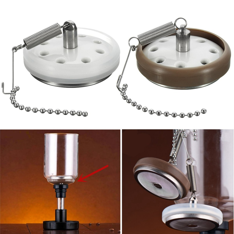 The Portable Stainless Steel Coffee Filter Permanent Dripper Filter Universal For Hario Syphon Siphon Coffee Maker Filters Tools
