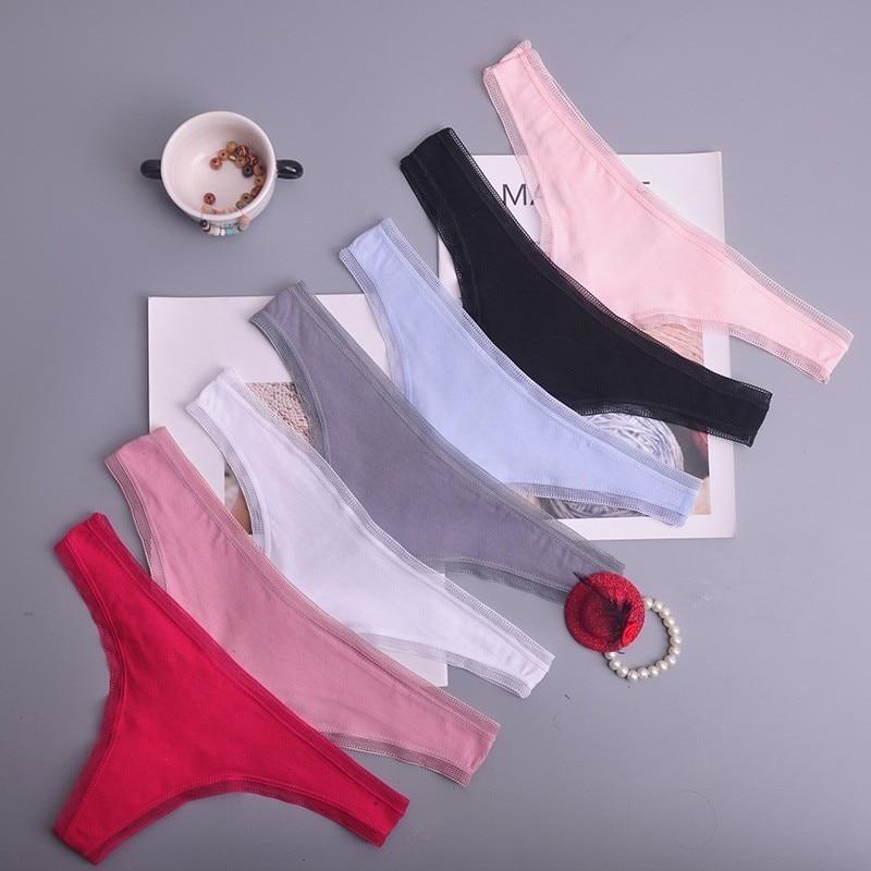 Women Black Color Sexy Underwear Ladies Underwear Panties Lingerie Bikini Ear Pants/ Thong/g-string 1pcs/lot Ac108
