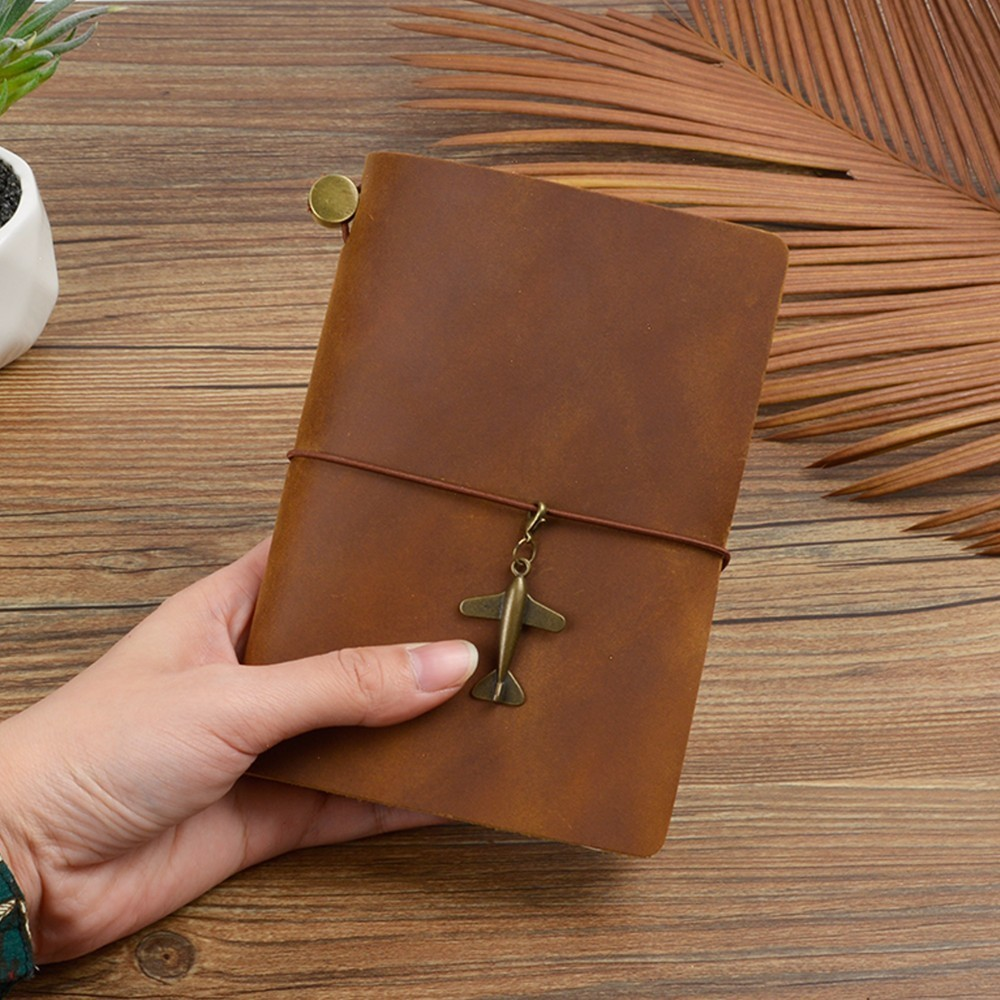 Image 3 - New Arrivals Field Notes Journal Cover Genuine Leather Notebook Planner Handmade Travel Agenda Pocket Diary Vintage StationeryNotebooks   -