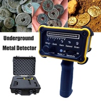 1Set Digital Metal Detector machine with Waterproof Packing Box for Gold Diamond Silver Large scale metal detector Equipment