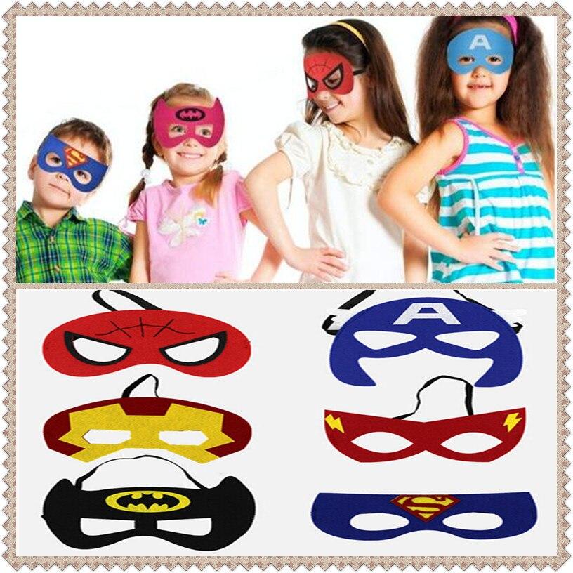 Radient Heiße Nette Super Hero Auge Maske Kinder Baby Junge Mädchen Cool Dekorieren Heros Halloween Phantasie Party Requisiten Kostüm Maskerade Auge Maske W3