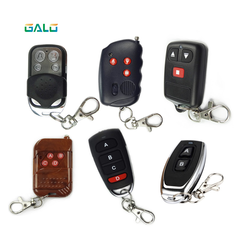 Universal Remote Control For Controlling The System Many Different Types Of Remote Control Use Garage And Gate Opener 433Mhz