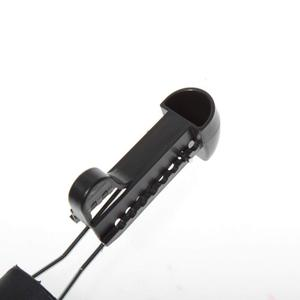 Image 5 - ABDB 5 pares práctico plástico ajustable longitud hombres zapato árbol Camilla titular de la bota organizadores (5 pares negro)