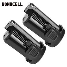Bonacell 12V 3500mAh Li-ion Rechargeable Battery For DREMEL 8200 8220 8300 B812-01 B812-02 L10