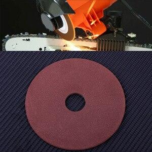 """Image 3 - * 10,5*3,2*22mm papel de lija para pulido de disco de la rueda para afilador de motosierra de paso de 325 de 3/8 """"de la cadena"""