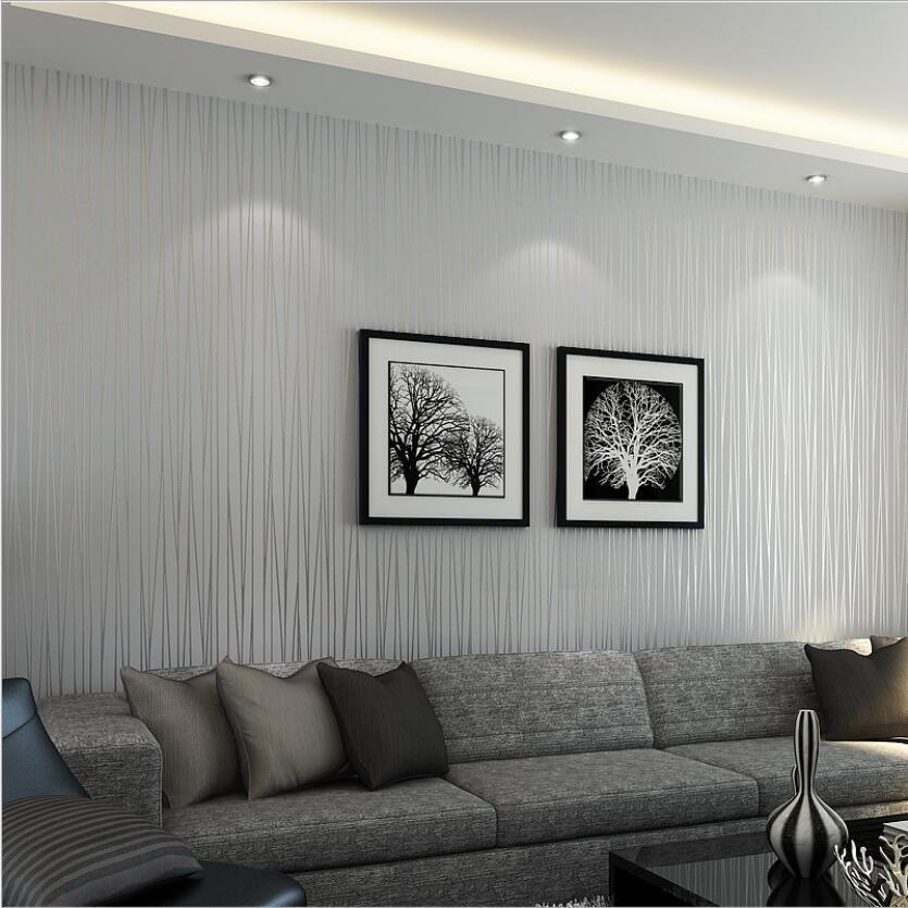 Wallpaper Sale Beautiful Reflective Glitter Stripes Hot Modern Elegant Solid Living Rooms 3d Wallpapers Grey Pink