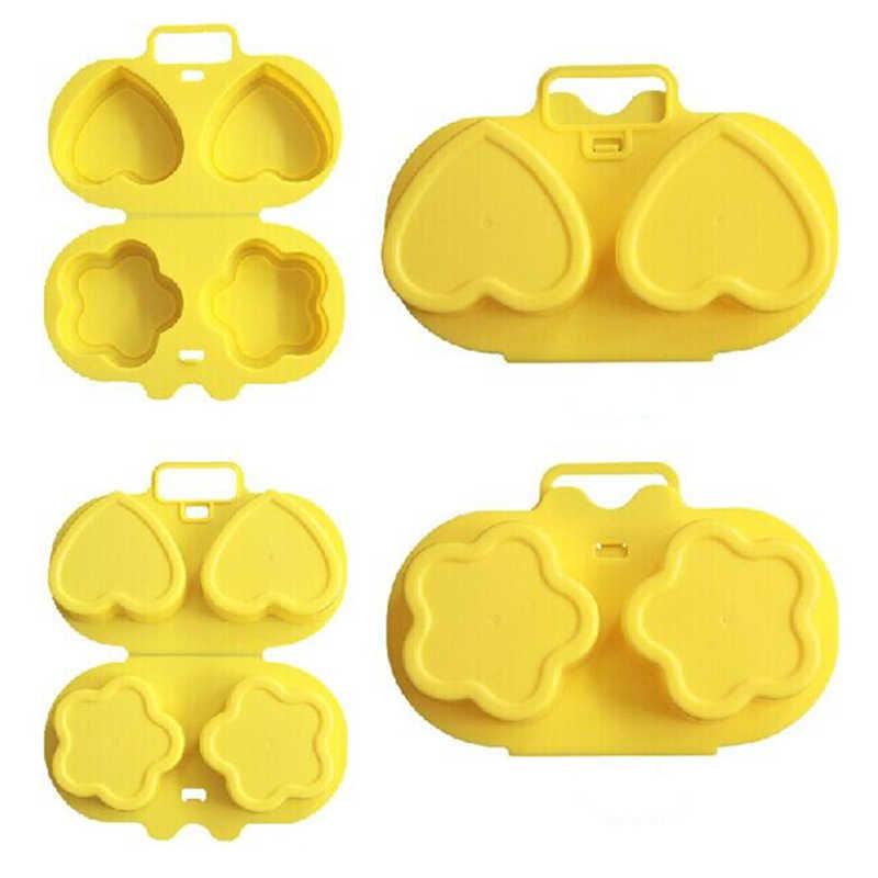 Bán Lò Vi Sóng Hấp Trứng Tiện Dụng 2 Mặt Hoa Tình Yêu Hấp Trứng Gà Mãng Cầu Khuôn Phụ Kiện Nhà Bếp