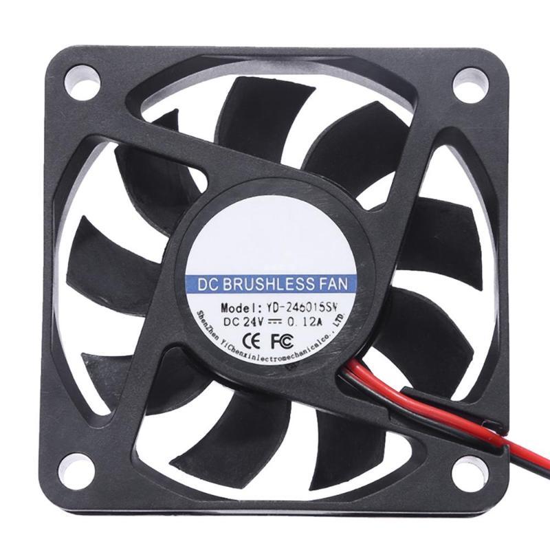 YD-2460 15SW DC 24V Cooler Fan 60x60mm 9 Blades Computer PC Cooling Fan