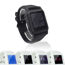 MP4 Watch for reading and Learning 25x25mm Support Text eBook WristWatch Music Player Spain Russia English Most Language
