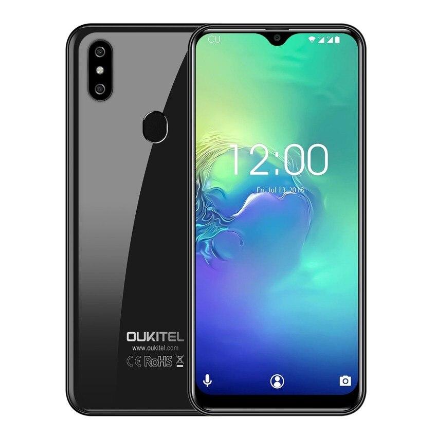 Купить OUKITEL C15 Pro Android 9,0 2,4 г/5 г Wi-Fi Мобильный телефон MT6761 отпечатков пальцев Лицо ID 4 г LTE смартфон капли воды экран сотовые телефоны на Алиэкспресс
