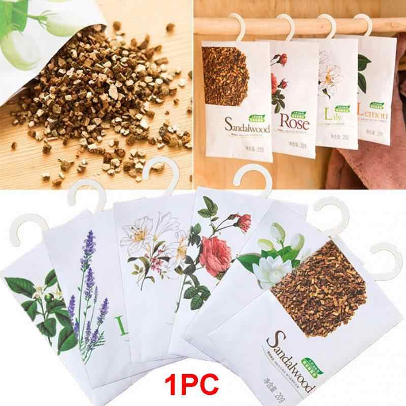 Fresh Air Plants Scented Fragrance Home Wardrobe Drawer Car Perfume Sachet Bag #1227
