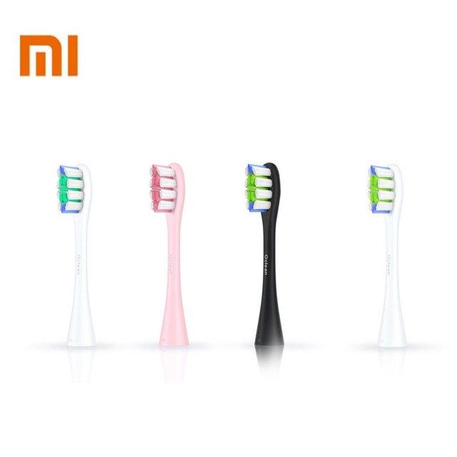 Xiaomi Original 2 piezas Oclean SE una de cepillo de dientes de reemplazo de limpieza profunda cabezas de cepillo para Xiaomi eléctrico-Sonic Oclean cepillo de dientes