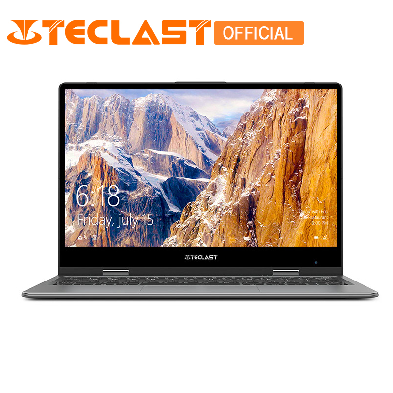 Teclast F5 Ordinateur Portable Intel Gemini Lac N4100 Quad Core 8 gb RAM 128 gb SSD Windows10 360 Écran Tactile Rotatif 11.6 Notebook PC