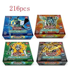 yu gi oh 216 pcs set with box yu gi oh anime Game Collection Cards kids boys toys for children(China)