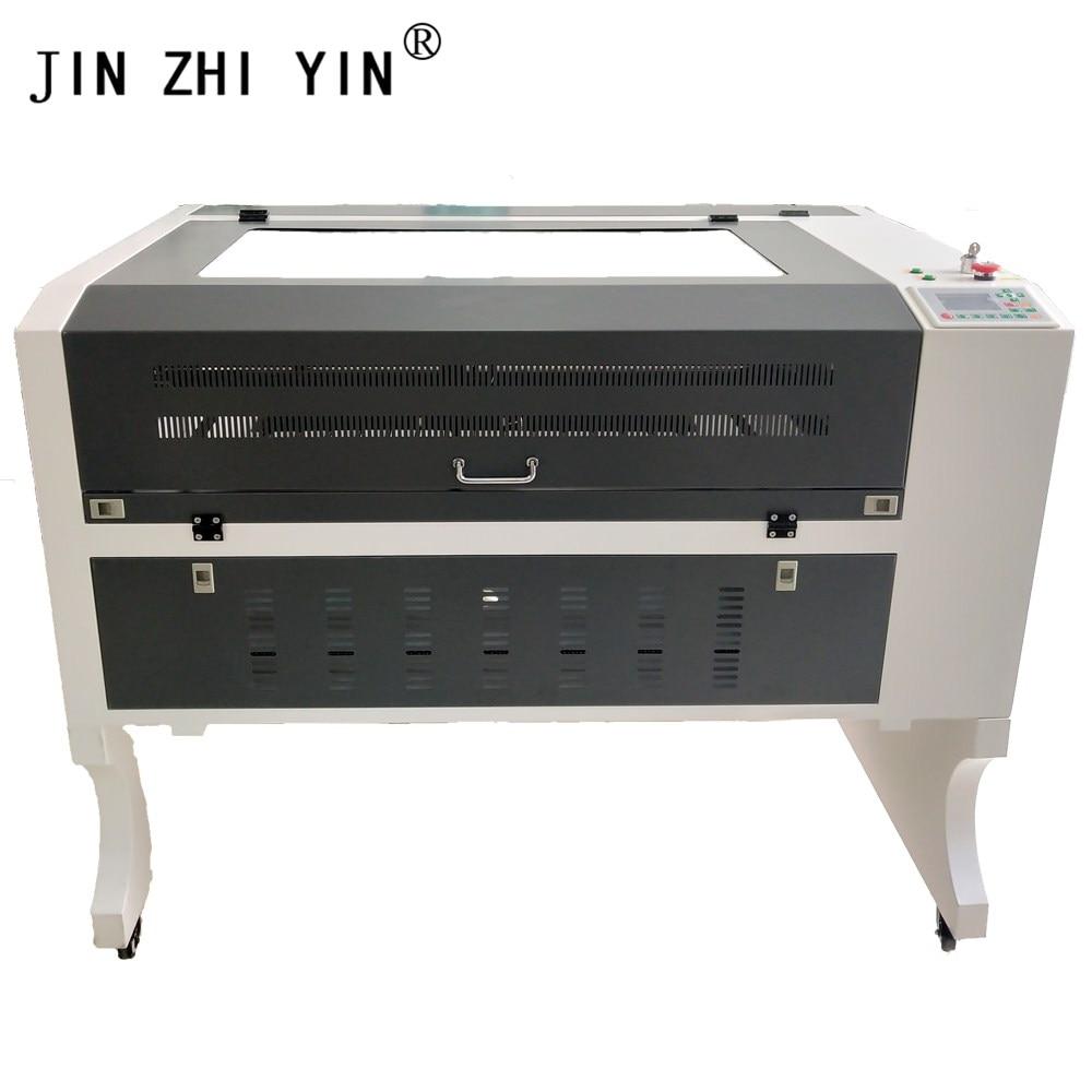6090 100W Laser Cutter Engraving Machine Ruida System Laser Engraver  Support Offline Work Can Put Through Long Materials