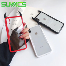 SUYACS Phone Case For iPhone XR XS Max 6