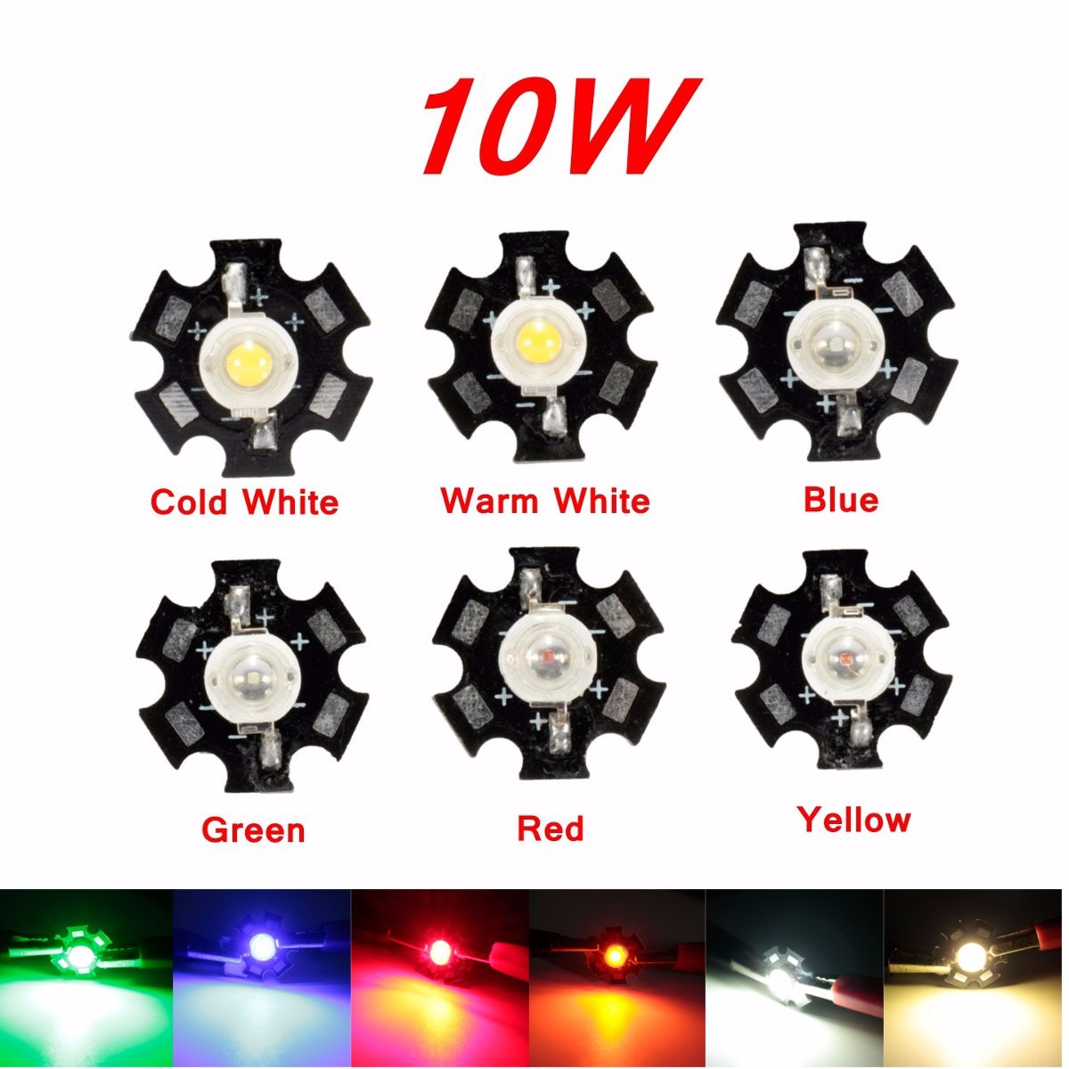 Genossenschaft High Power Led Pcb Licht Lampe Birne Perlen Chips Auto Innen Lesen Lampe Aquarium Kühlkörper