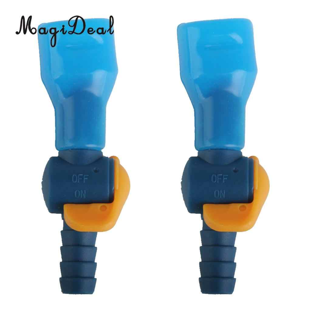 4x Universal Replacement Water Bladder Bag Hydration Pack Pipe Valve Nozzle