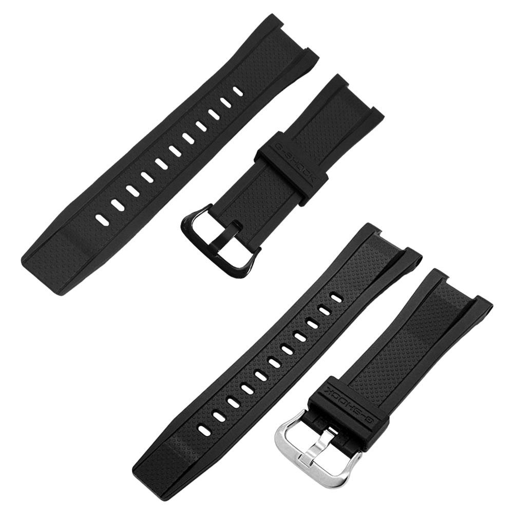 2 Colors Rondaful New Replacement Watchband For Casio GST 210 W110 W100 S110 S100 B100 S300 Watch Resin Band Wrist in Smart Accessories from Consumer Electronics