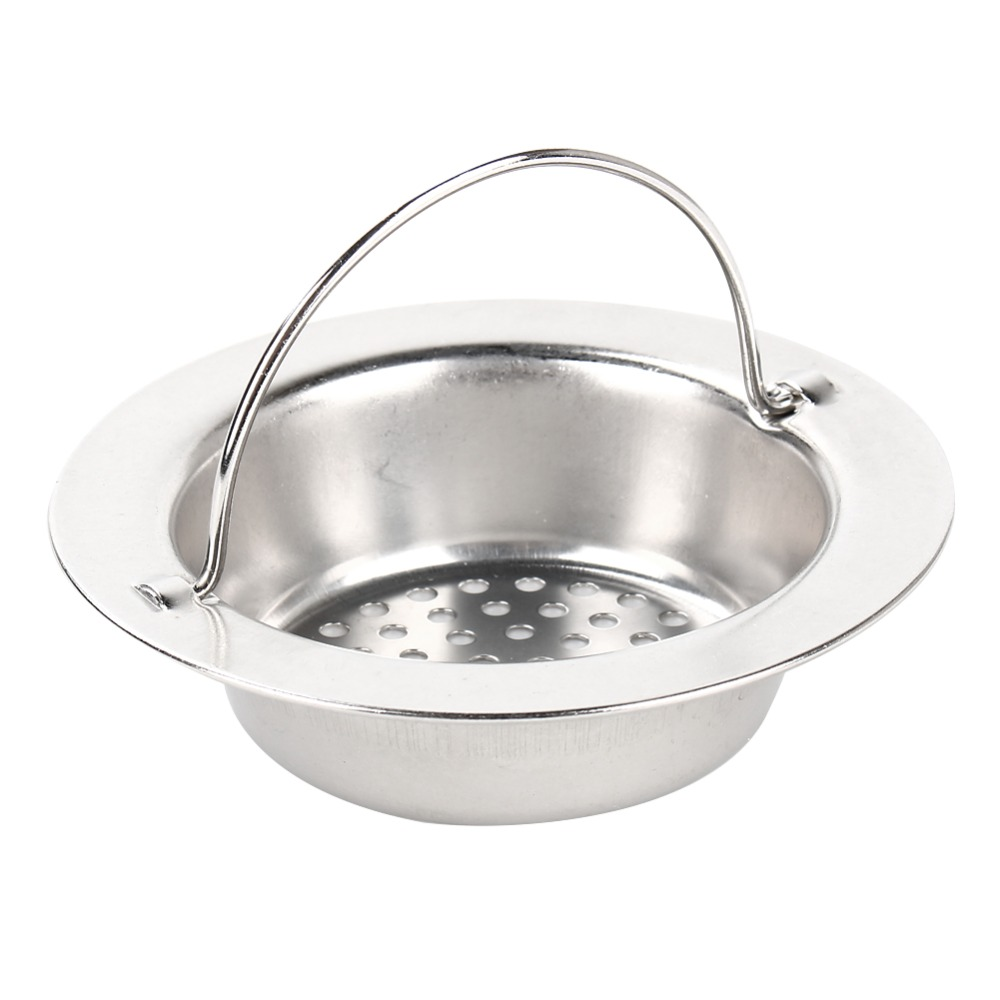 Kitchen Sink Strainer Bathroom Handed Sink Filter Drain Pool Sink Colanders Sewer Net  Sink Drainer Round 11cm 9cm Optional