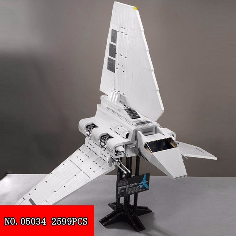 Lepin 05034 Star Series Empire Shuttle Machine Become Known Goose Spelling Building Blocks Alpinia Oxyphylla Toys 2599pcs Block lepin highest hero series 07044 madhouse assembling spelling insert building block alpinia oxyphylla grain childre toys 1685pcs
