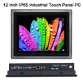 12 Inch IP65 Industrial Touch Panel PC,10 Points Capacitive TS,All in One Computer,Windows 7/10,Linux,Intel J1900,[HUNSN DA14W]