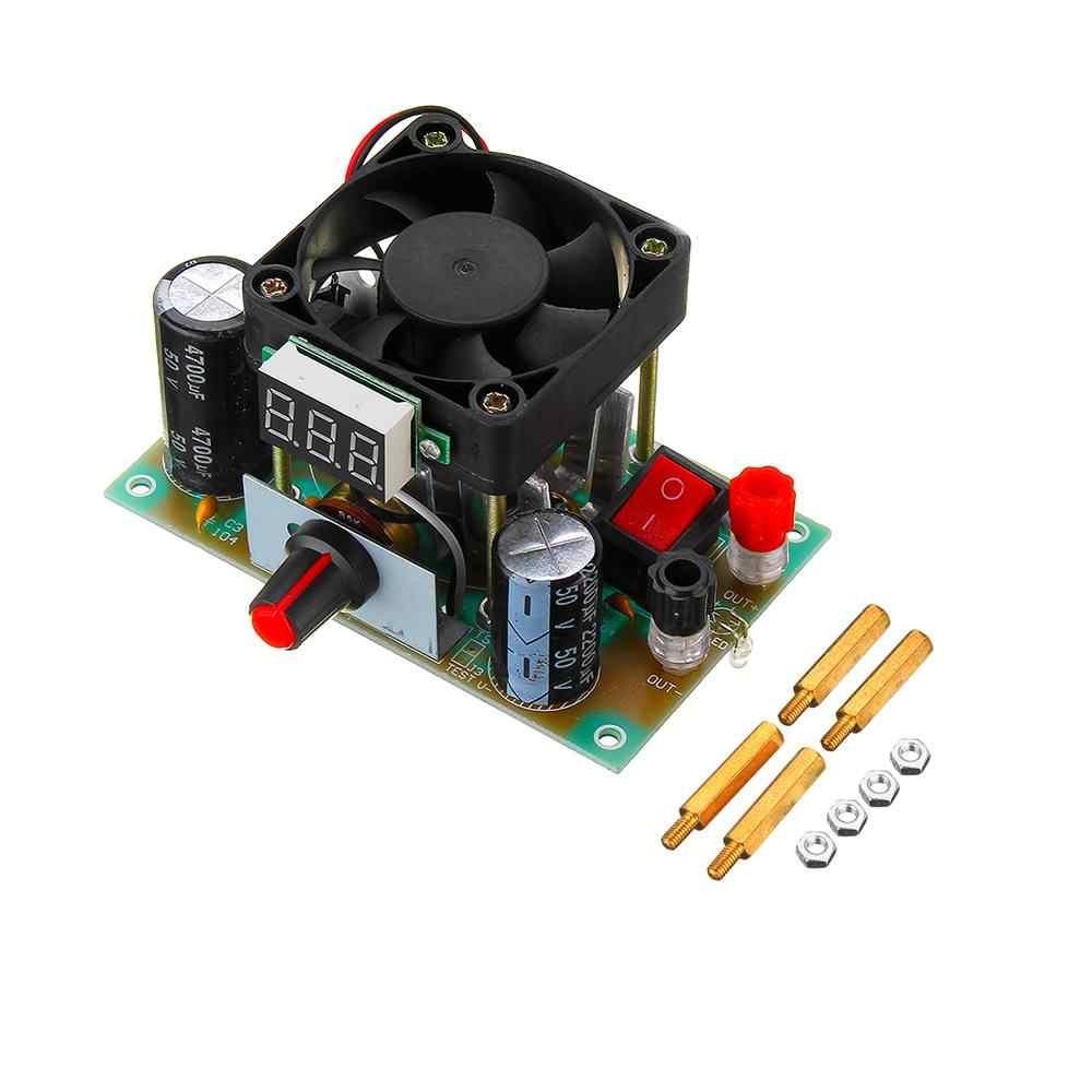 كلايت باك تنحى منظم الدائرة الجهد شاشة ديجيتال عالية الطاقة قابل للتعديل الخطي وحدة 3A