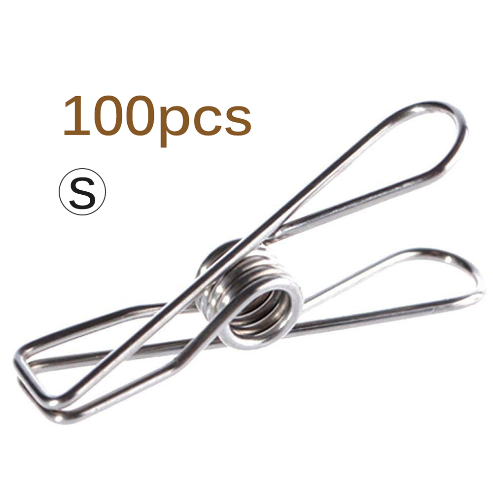 Stainless Steel Clip Clothes Peg Clothes Wire Clips Craft