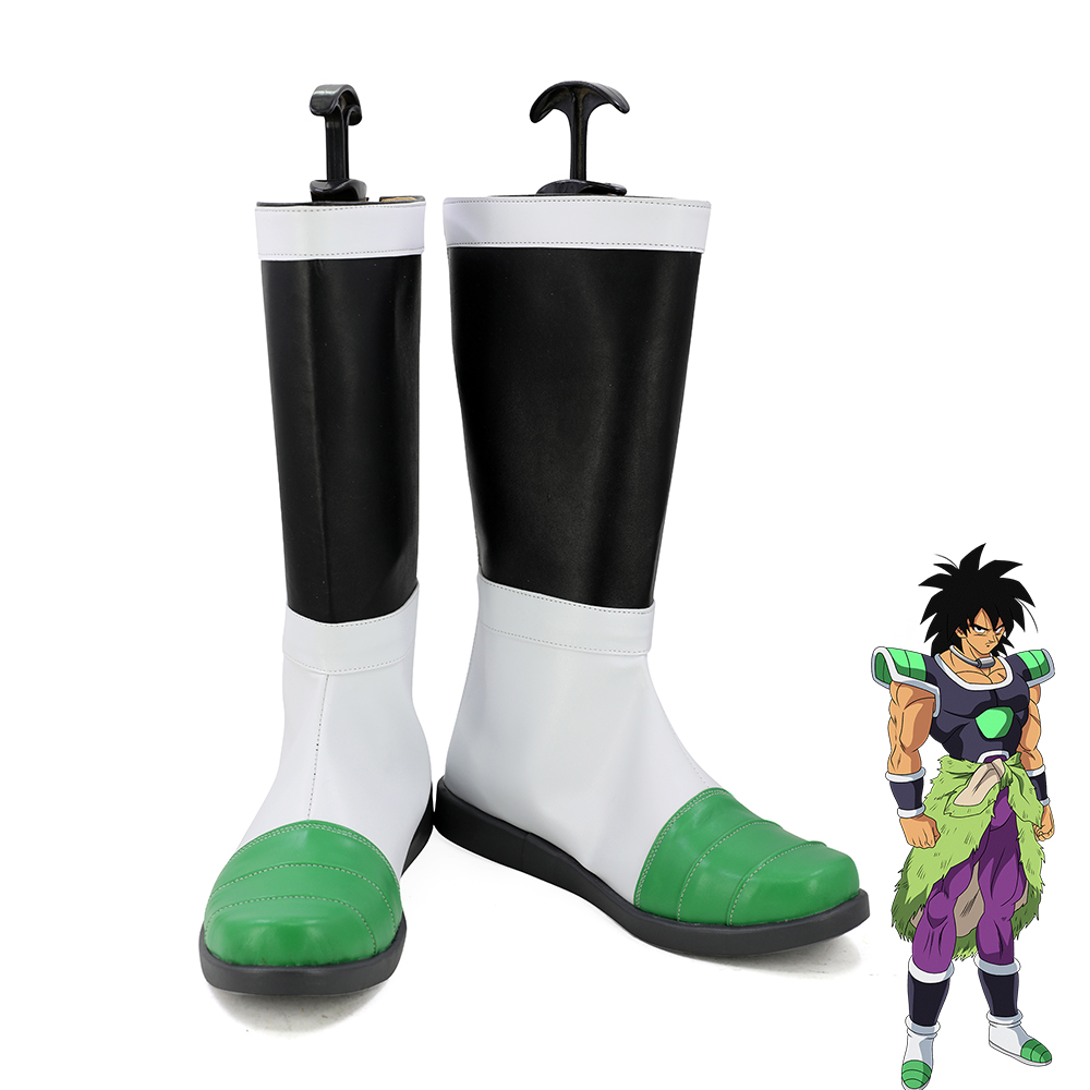 DragonBall Z Super Saiyan Broli Cosplay Shoes Men Boots