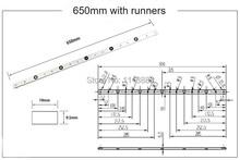 NEW 650mm (25.5