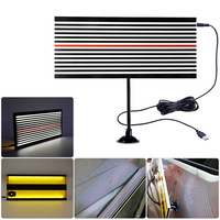 Paintless Dent Repair LED Line Board Scratch Reflector Dent Doctor Removal Tool